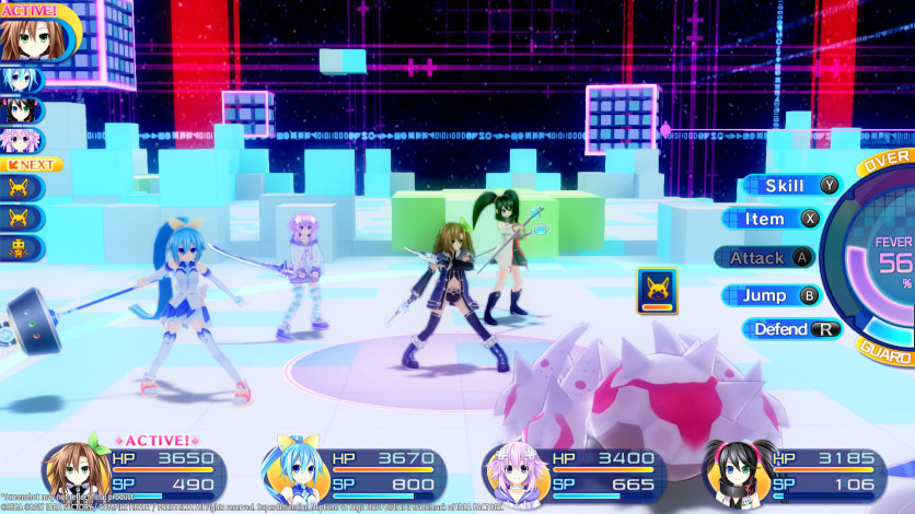 Screenshot 2 - Superdimension Neptune VS Sega Hard Girls