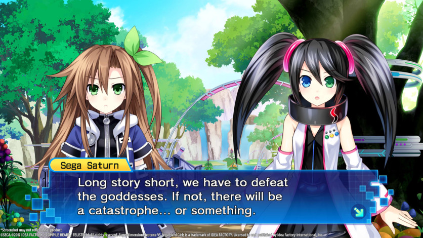 Screenshot 8 - Superdimension Neptune VS Sega Hard Girls