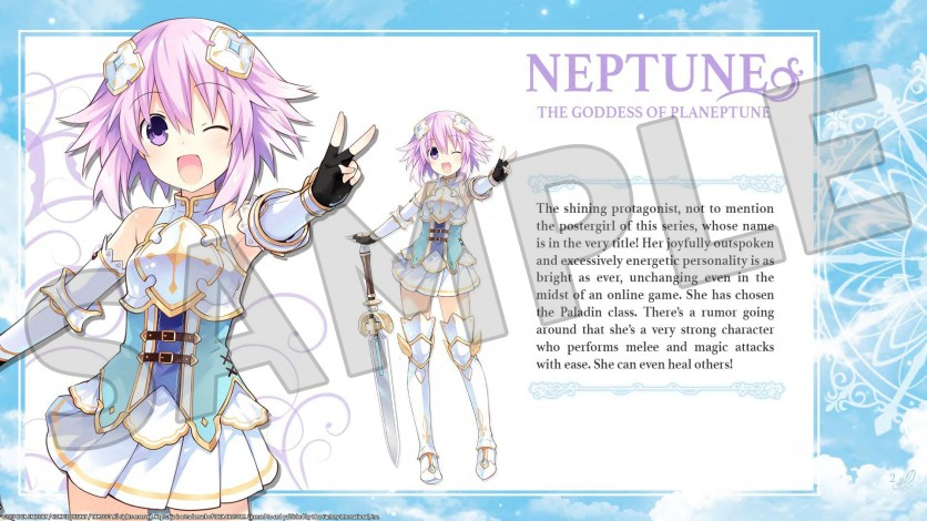 Screenshot 4 - Cyberdimension Neptunia: 4 Goddesses Online - Deluxe Pack