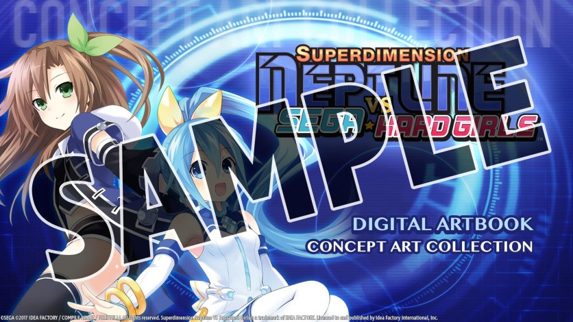 Screenshot 3 - Superdimension Neptune VS Sega Hard Girls Deluxe Pack