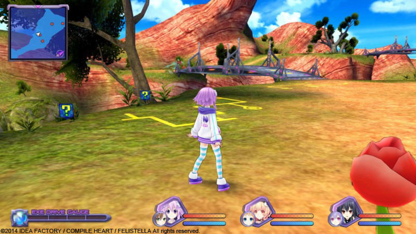 Screenshot 4 - Hyperdimension Neptunia Re;Birth1