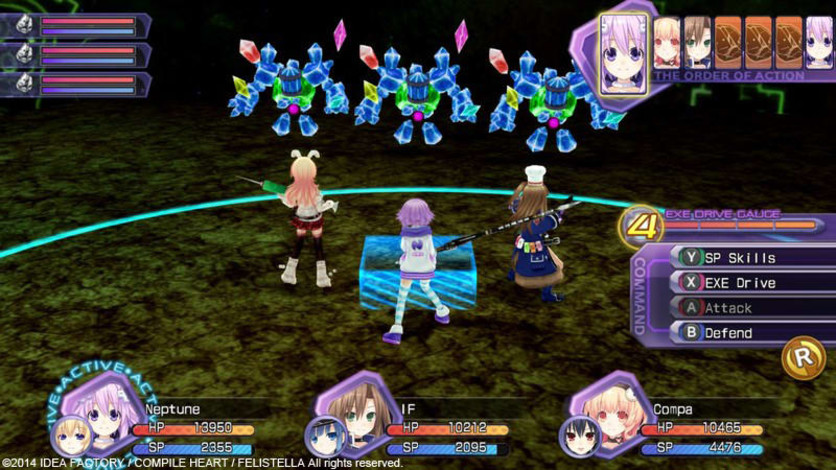 Screenshot 12 - Hyperdimension Neptunia Re;Birth1