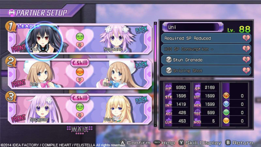 Screenshot 14 - Hyperdimension Neptunia Re;Birth1