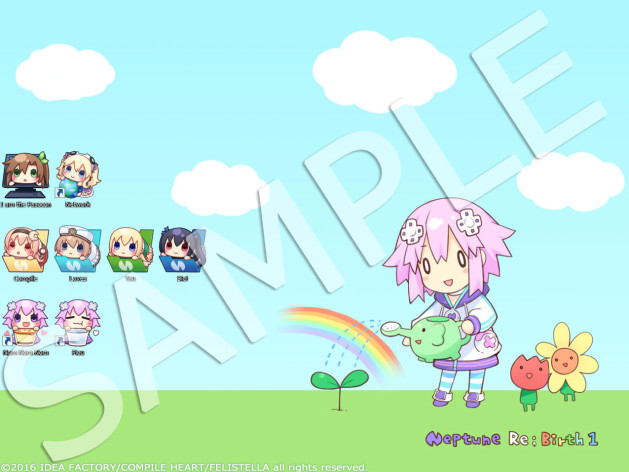 Screenshot 2 - Hyperdimension Neptunia Re;Birth1 - Deluxe Pack