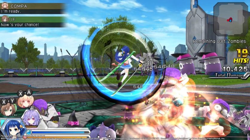 Screenshot 8 - MegaTagmension Blanc + Neptune VS Zombies (Neptunia)