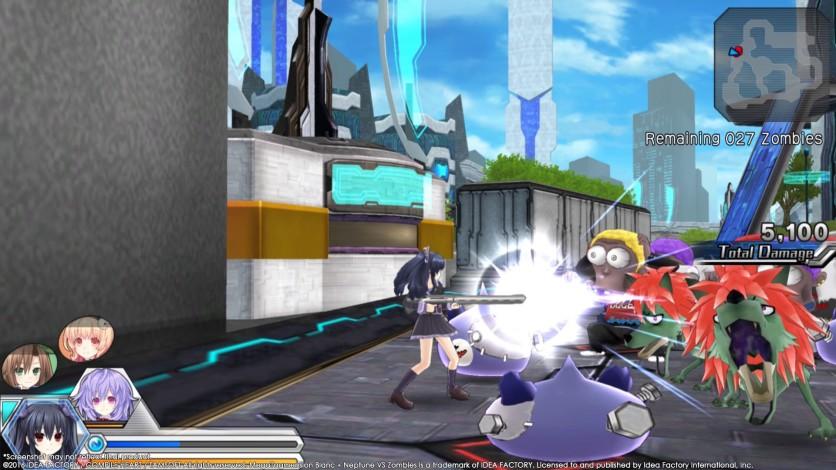 Screenshot 4 - MegaTagmension Blanc + Neptune VS Zombies (Neptunia)