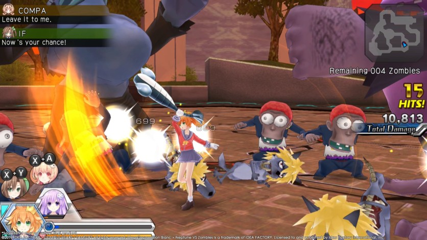 Screenshot 7 - MegaTagmension Blanc + Neptune VS Zombies (Neptunia)