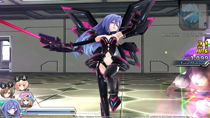 Screenshot 12 - MegaTagmension Blanc + Neptune VS Zombies (Neptunia)