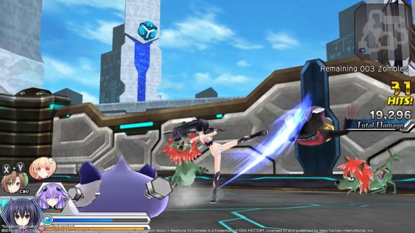 Screenshot 11 - MegaTagmension Blanc + Neptune VS Zombies (Neptunia)