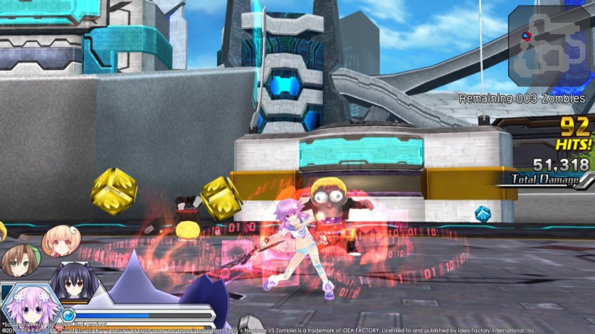 Screenshot 10 - MegaTagmension Blanc + Neptune VS Zombies (Neptunia)