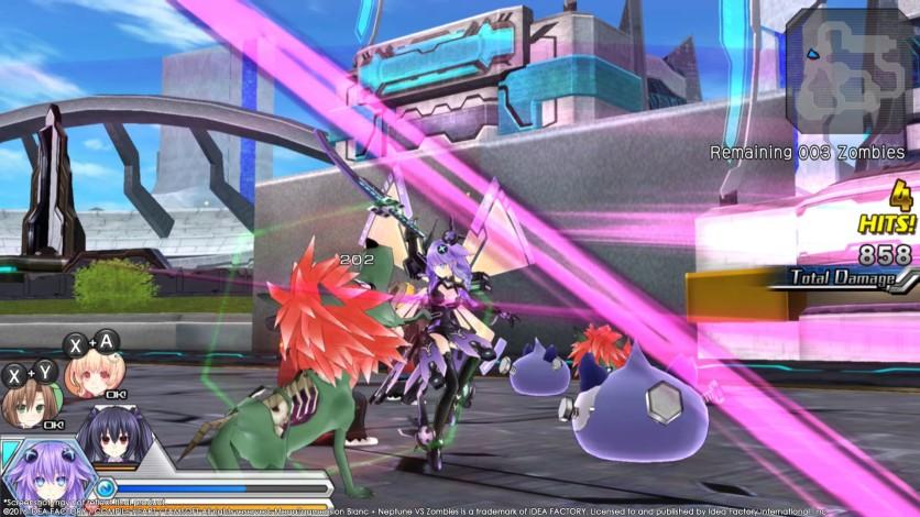 Screenshot 5 - MegaTagmension Blanc + Neptune VS Zombies (Neptunia)