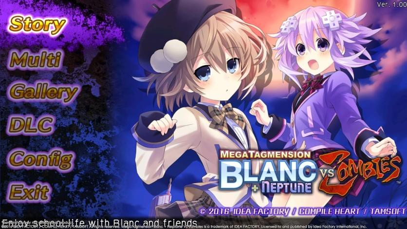 Screenshot 2 - MegaTagmension Blanc + Neptune VS Zombies (Neptunia)