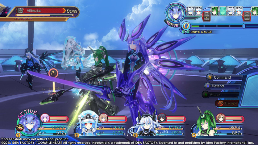 Screenshot 1 - Megadimension Neptunia VII