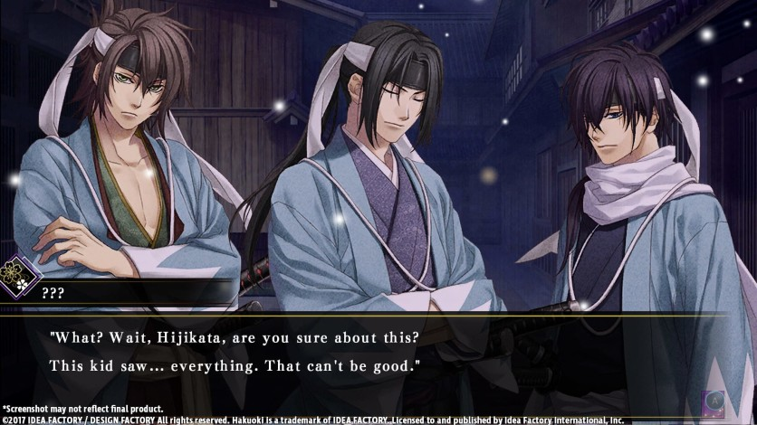 Screenshot 4 - Hakuoki: Kyoto Winds