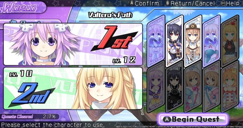 Screenshot 6 - Hyperdimension Neptunia U: Action Unleashed