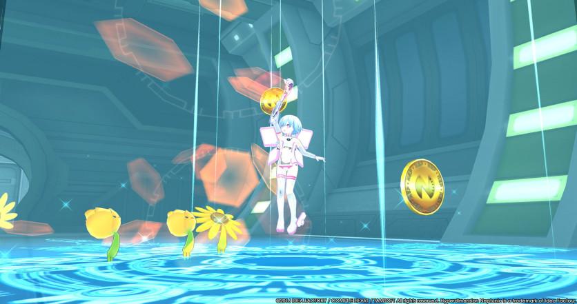 Screenshot 1 - Hyperdimension Neptunia U: Action Unleashed