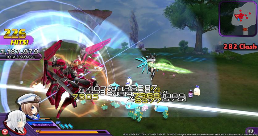 Screenshot 10 - Hyperdimension Neptunia U: Action Unleashed