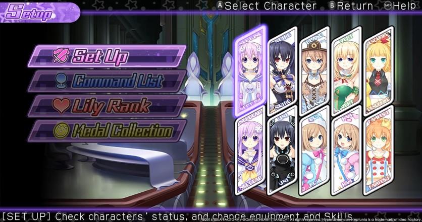 Screenshot 4 - Hyperdimension Neptunia U: Action Unleashed