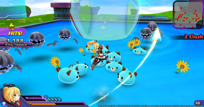 Screenshot 2 - Hyperdimension Neptunia U: Action Unleashed