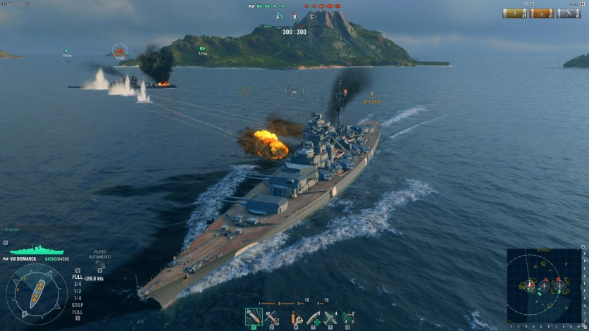 Screenshot 16 - World of Warships - Starter Pack