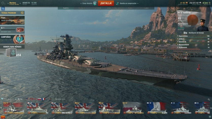 Screenshot 9 - World of Warships - Starter Pack