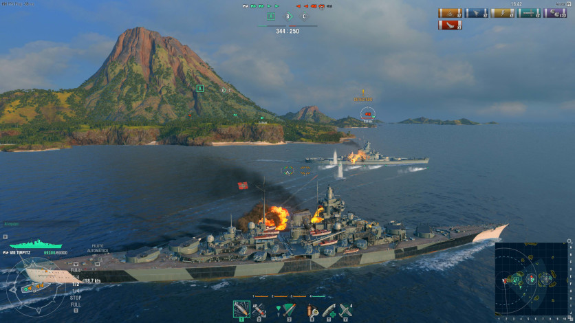 Screenshot 7 - World of Warships - Starter Pack