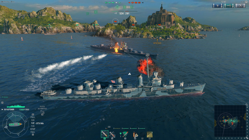 Screenshot 10 - World of Warships - Starter Pack