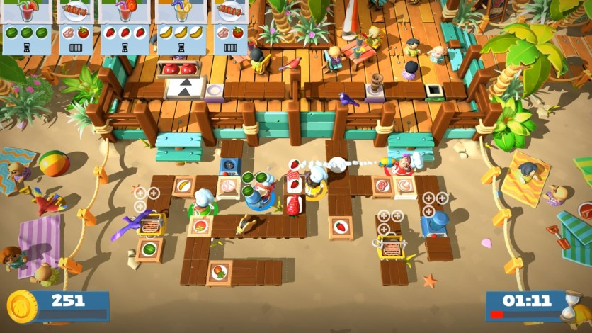 Screenshot 7 - Overcooked! 2 - Surf 'n' Turf
