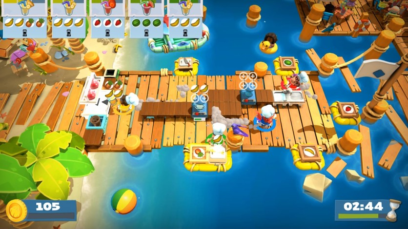 Screenshot 3 - Overcooked! 2 - Surf 'n' Turf
