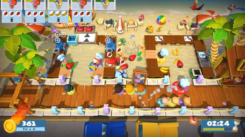 Screenshot 4 - Overcooked! 2 - Surf 'n' Turf