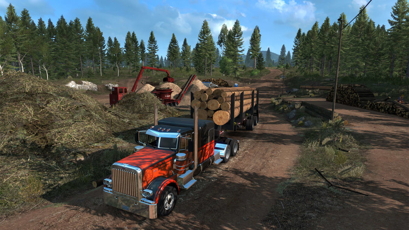 Screenshot 1 - American Truck Simulator - Oregon