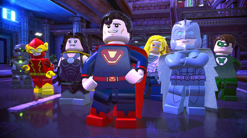 Screenshot 1 - LEGO DC Super-Villains