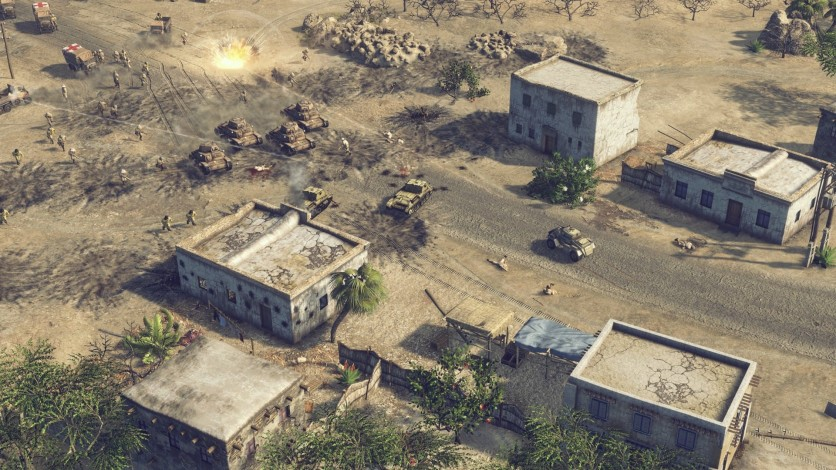 Screenshot 10 - Sudden Strike 4 – Africa: Desert War