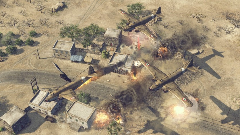 Screenshot 3 - Sudden Strike 4 – Africa: Desert War