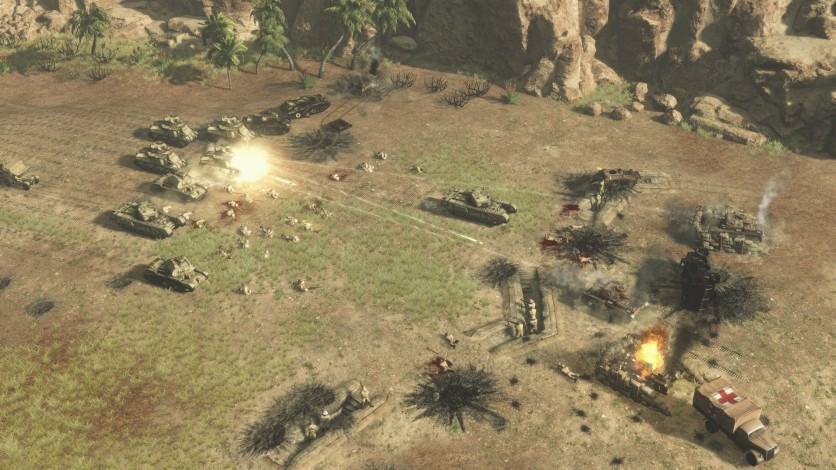 Screenshot 4 - Sudden Strike 4 – Africa: Desert War