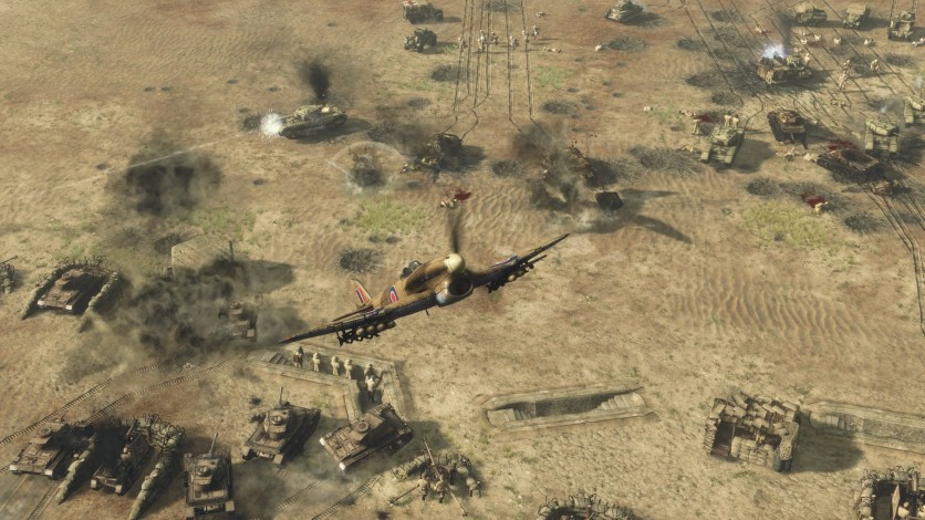 Screenshot 1 - Sudden Strike 4 – Africa: Desert War