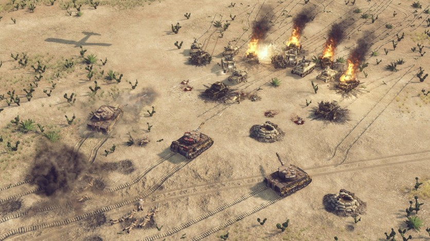 Screenshot 5 - Sudden Strike 4 – Africa: Desert War