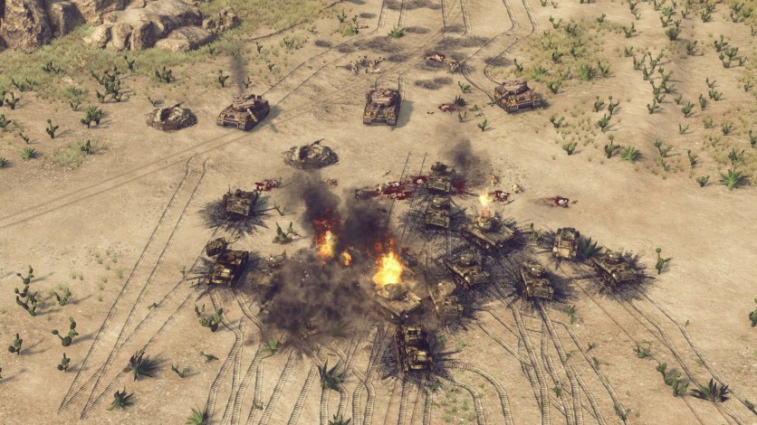 Screenshot 9 - Sudden Strike 4 – Africa: Desert War