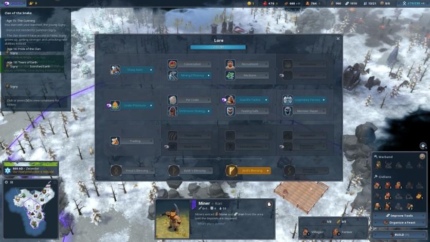 Screenshot 7 - Northgard - Sváfnir, Clan of the Snake