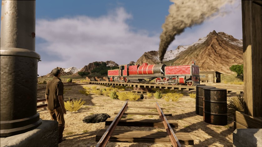 Screenshot 5 - Railway Empire - Crossing the Andes