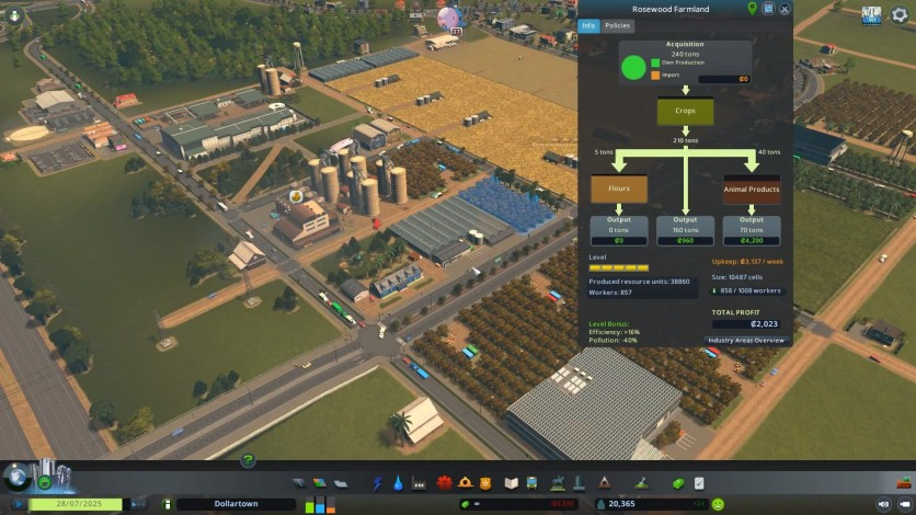 Screenshot 4 - Cities: Skylines - Industries