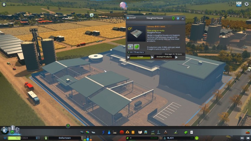 Screenshot 3 - Cities: Skylines - Industries Plus