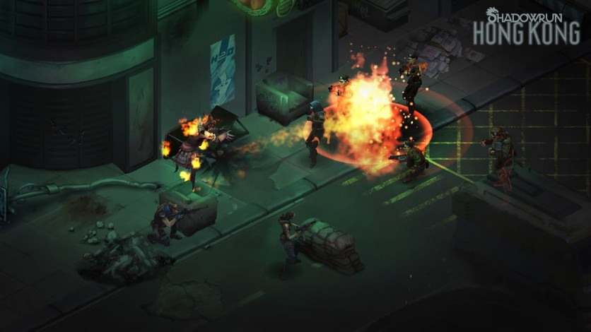 Screenshot 2 - Shadowrun: Hong Kong - Extended Edition