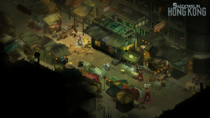 Screenshot 3 - Shadowrun: Hong Kong - Extended Edition