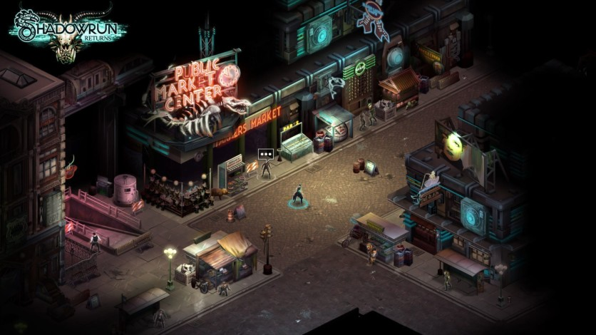 Screenshot 1 - Shadowrun Returns - Deluxe Upgrade
