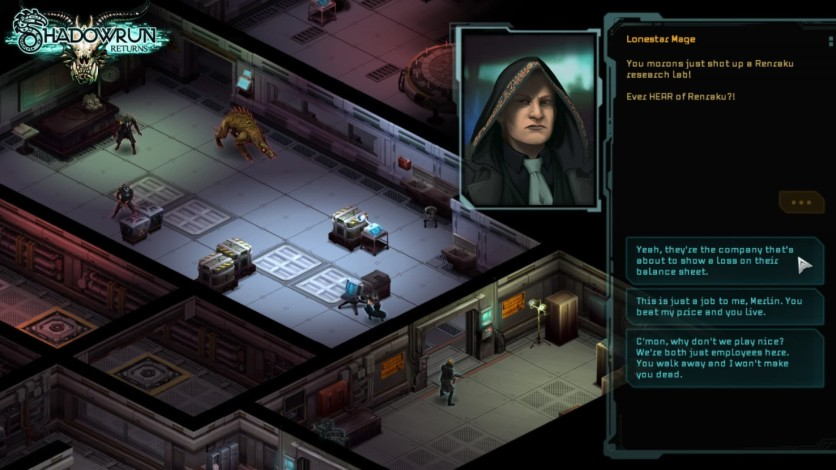 Screenshot 3 - Shadowrun Returns - Deluxe Upgrade