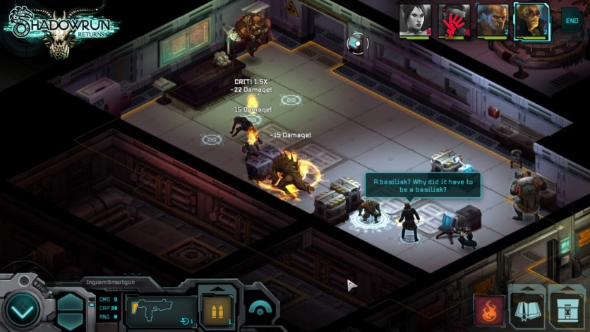 Screenshot 4 - Shadowrun Returns - Deluxe Upgrade