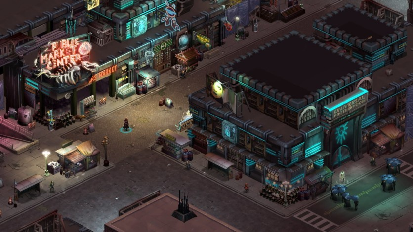 Screenshot 2 - Shadowrun Returns - Deluxe Edition