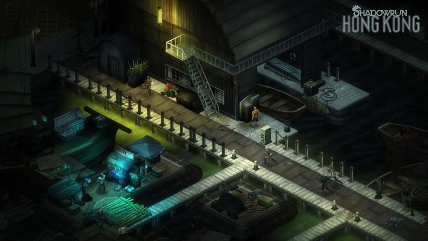 Screenshot 1 - Shadowrun: Hong Kong - Extended Edition Deluxe Upgrade