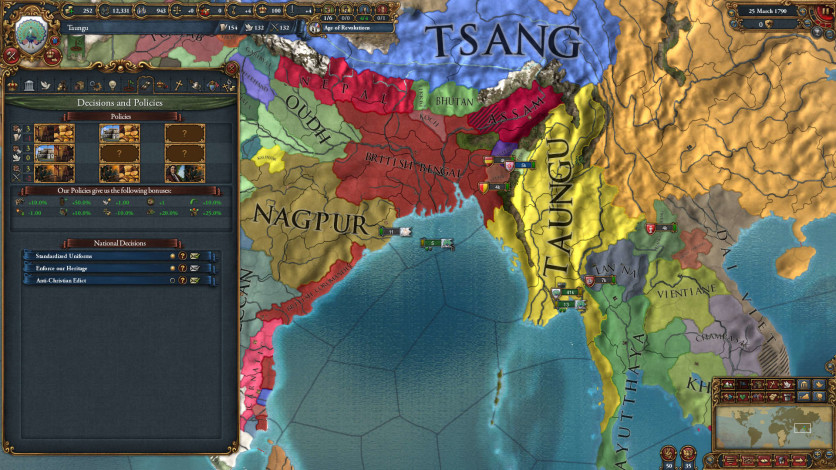 Screenshot 5 - Europa Universalis IV: Dharma Collection